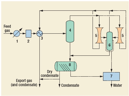 Twister Supersonic Gas Conditioning Process by Twister BV
